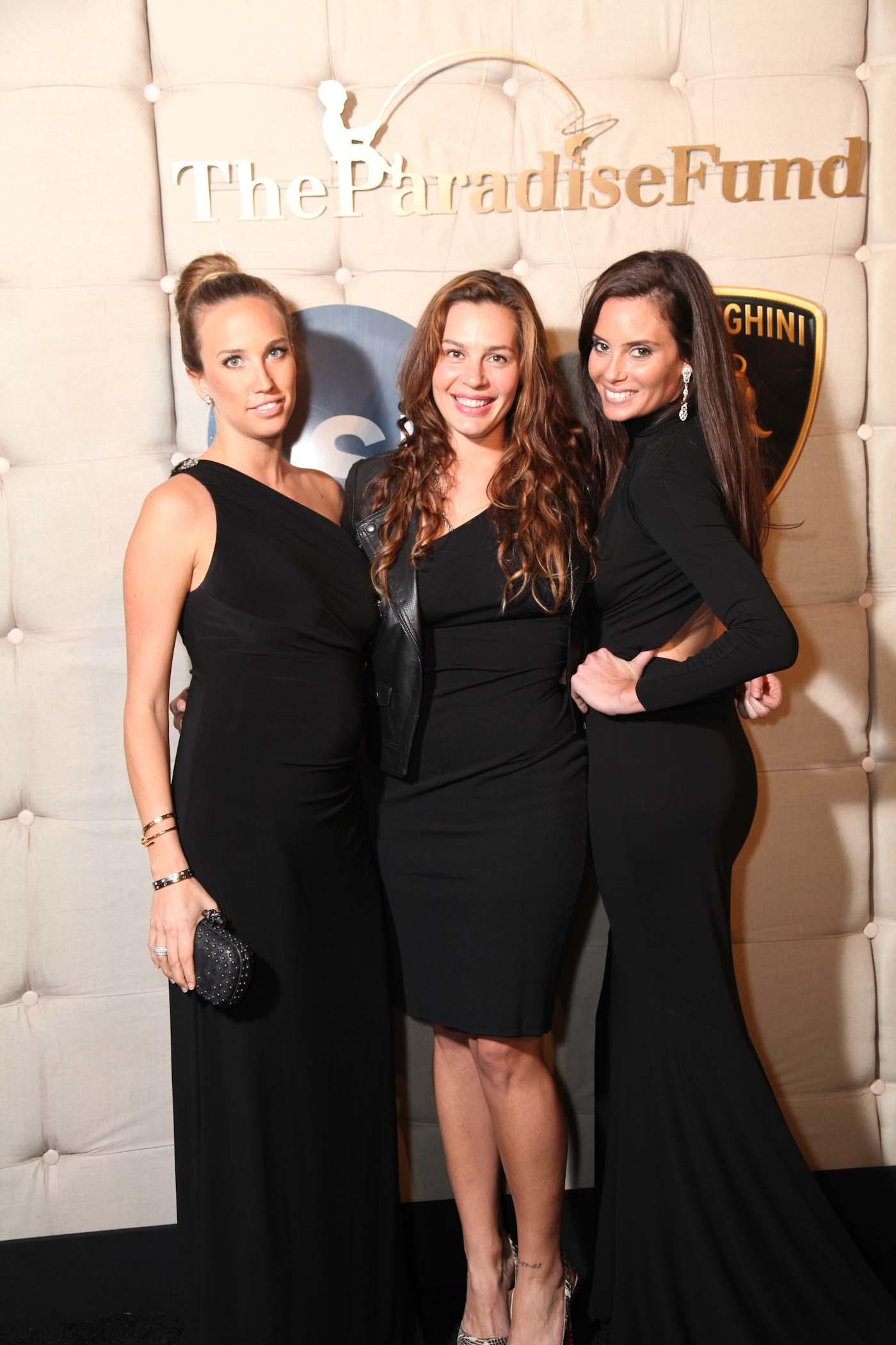 Ashley Harcourt, Gigi Fouquet and Marley Goodman