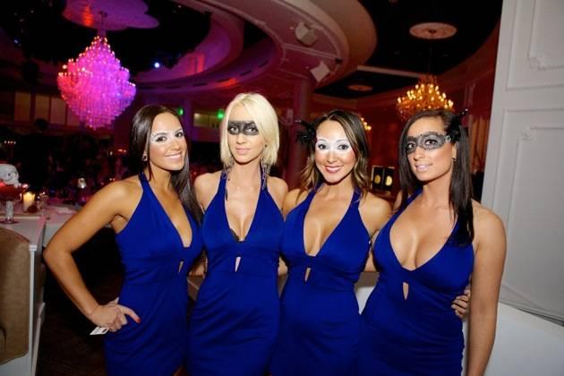 Bagatelle Las Vegas Preview Party - Halloween Night inside Tropicana Resort, Las Vegas. October 31, 2012 Bagatelle Staff. (Photo by CarlosLarios/Invision/AP)