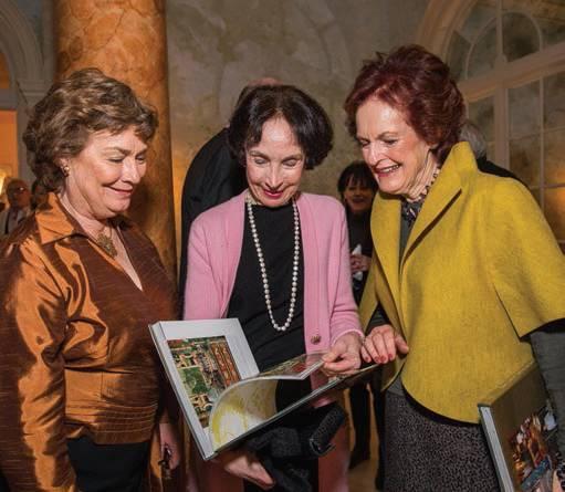 Merla Zellerbach, Helen Hilton Raiser and guest