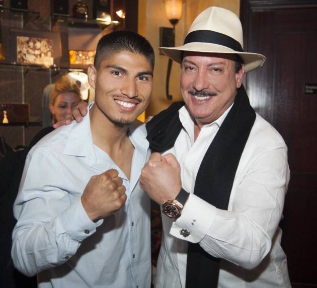 Miguel Angel Garcia and Carlos Fuente Jr.