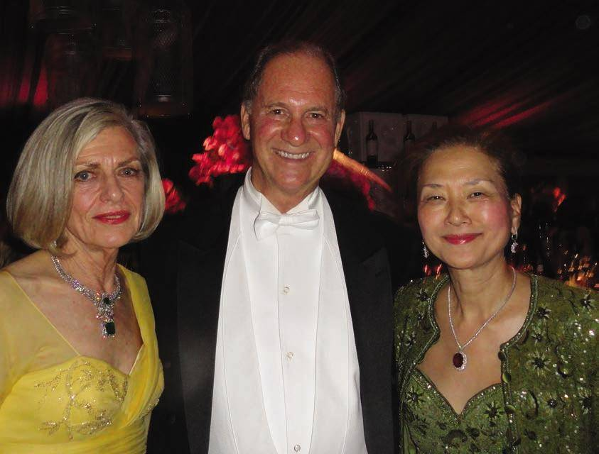 Olivia Hsu Decker with Ken and Dorothy Paige at Opera Ball