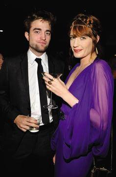 Robert Pattison and Florence Welch
