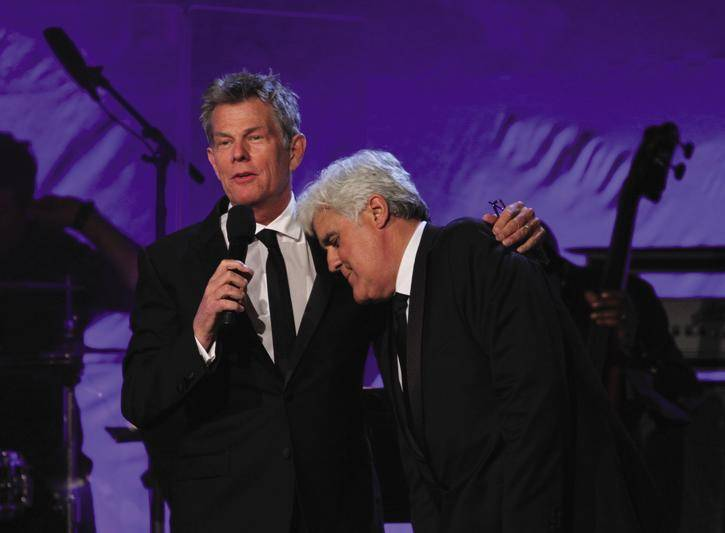 David Foster and Jay Leno