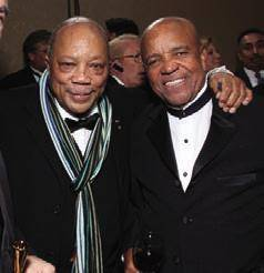 Quincy Jones and Berry Gordy