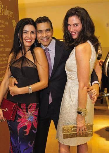 Afsaneh Akhtari, Daniel Diaz and Lisa Alexander