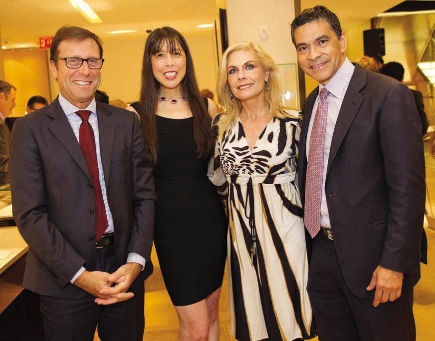 Alberto Festa, Magdalene Chan, Jacqueline Jacoby and Daniel Diaz