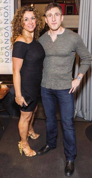 Angelina Umansky and Bruce Thompson