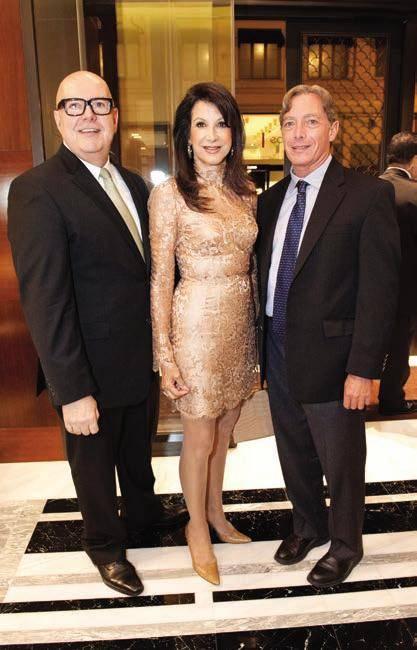 Robert Atkinson, Lonna Wais and Ken Garcia