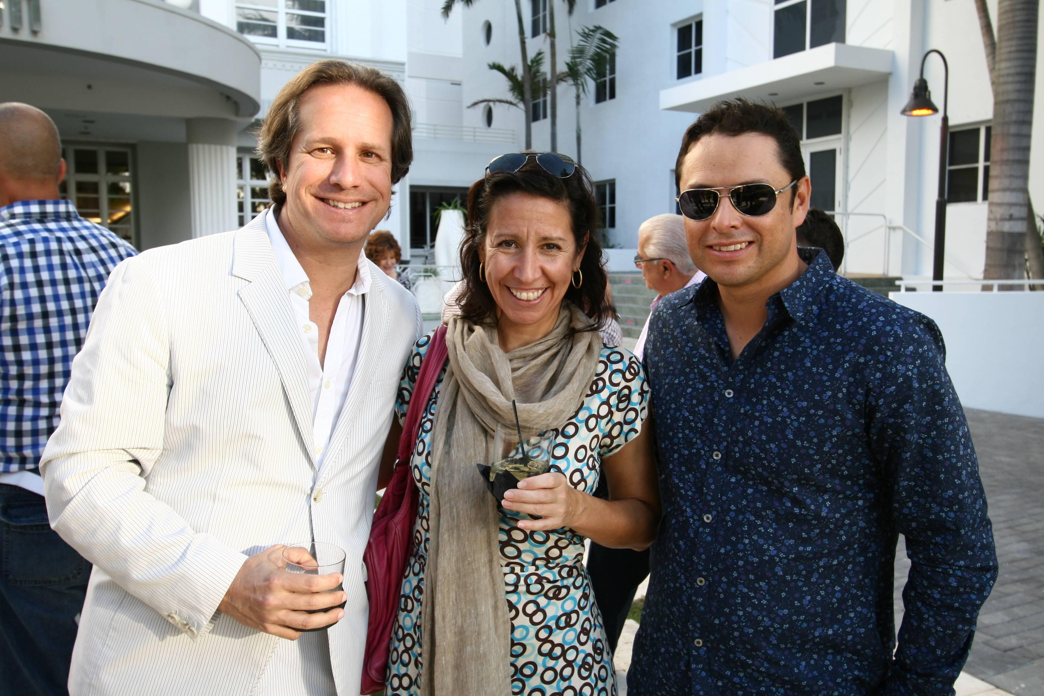 Paul Lehr, Lisa Leone, Fernando Rojas