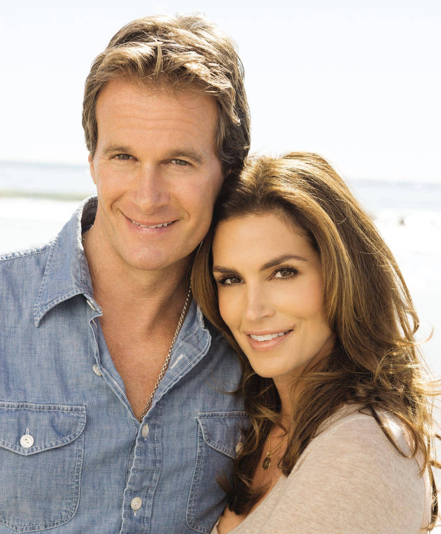 Rande Gerber and Cindy Crawford – 1