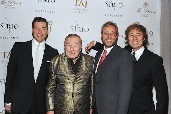 Grand Opening of SIRIO RISTORANTE At The Iconic PIERRE, A TAJ Hotel