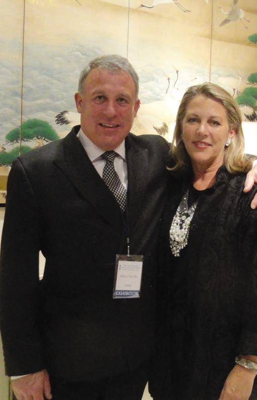 Suzanne Tucker and Henry Neville of Mallett at Fall Antique Show