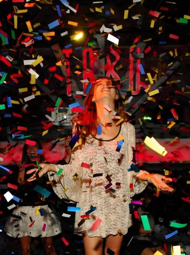 Tabú - Angela Sarafyan Confetti - 11.17.12