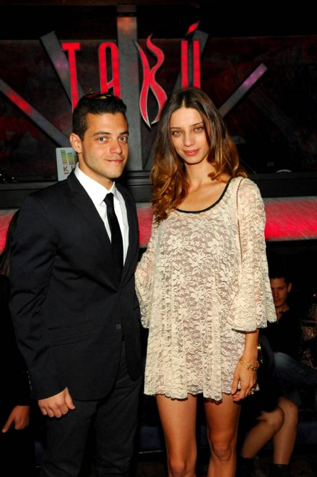 Tabú - Rami Malek and Angela Sarafyan Inside Tabú - 11.17.12