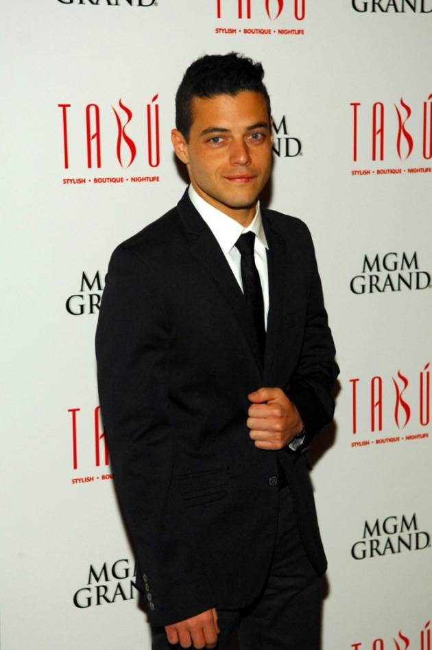 Tabú - Rami Malek on Carpet - 11.17.12