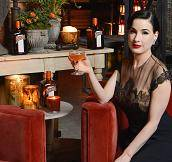 La Maison Cointreau Debuts in San Francisco with Performance by Dita Von Teese
