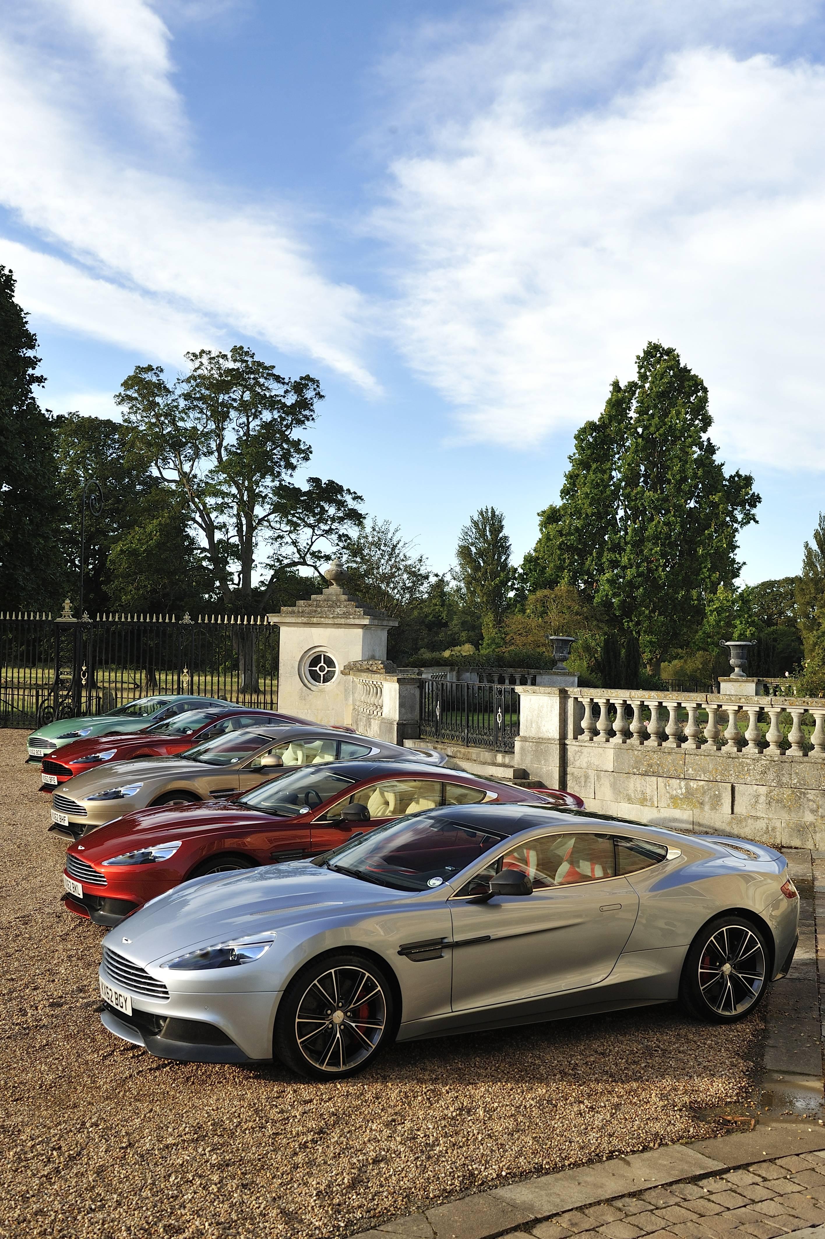 Aston Martin Unveils Vanquish To US Market At South Florida - Aston martin florida
