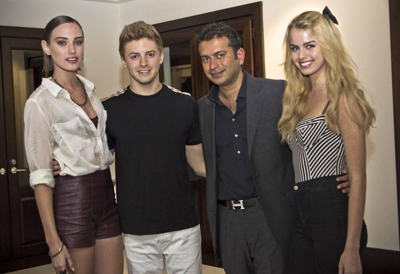 Kamal and friends