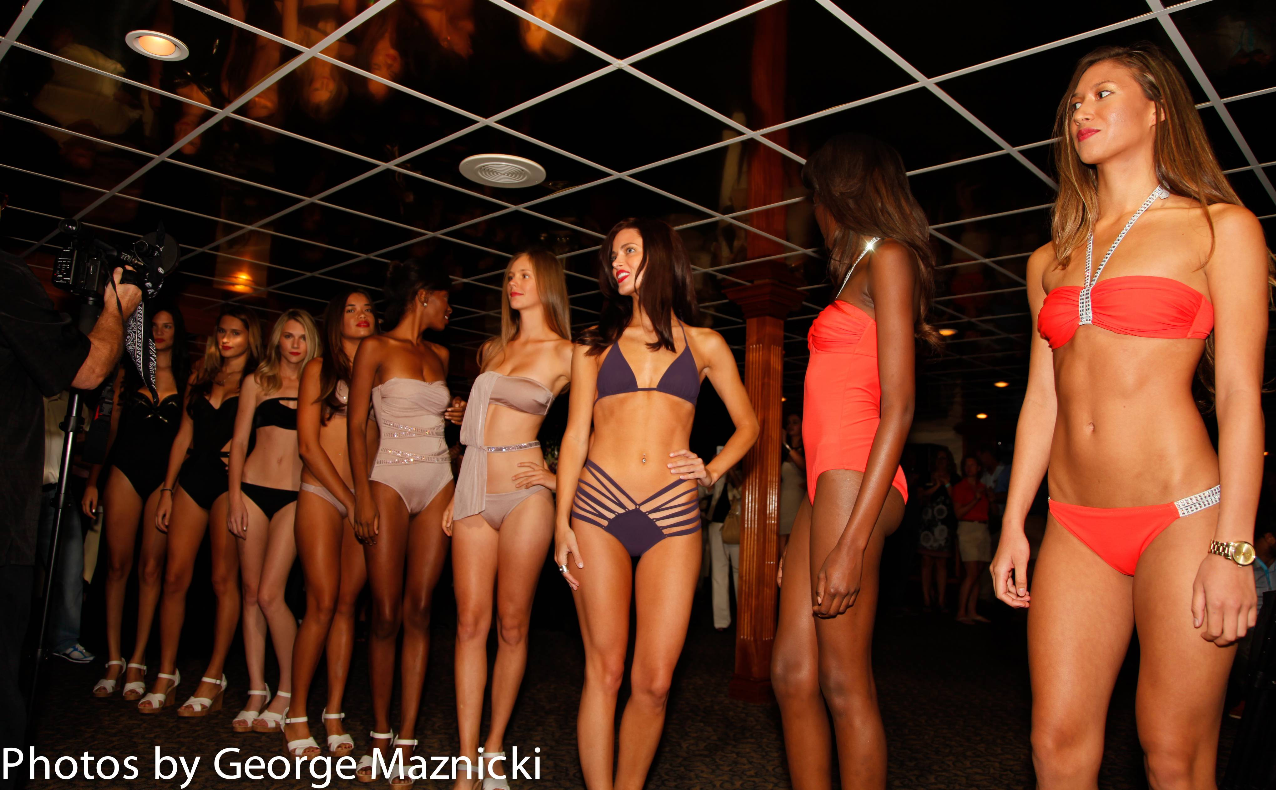 Wrap of show - Ford Models in 2013 Zeki Swimwear Collection