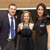 Panerai Manager, Michelle Gallegher and Sarah Mirmelli