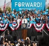 Barack Obama and Eva Longoria Grassroots Rally in Las Vegas, NV