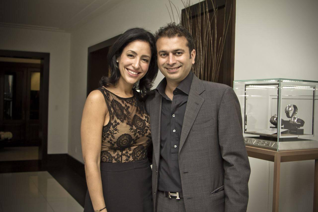 Violet Camacho and Kamal Hotchandani