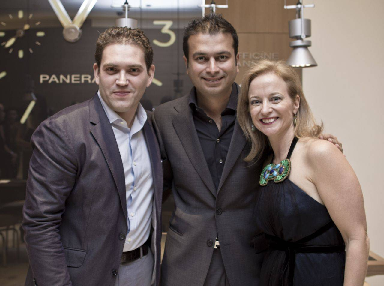 Raphael Alvarez, Kamal Hotchandani and Michelle Gallagher