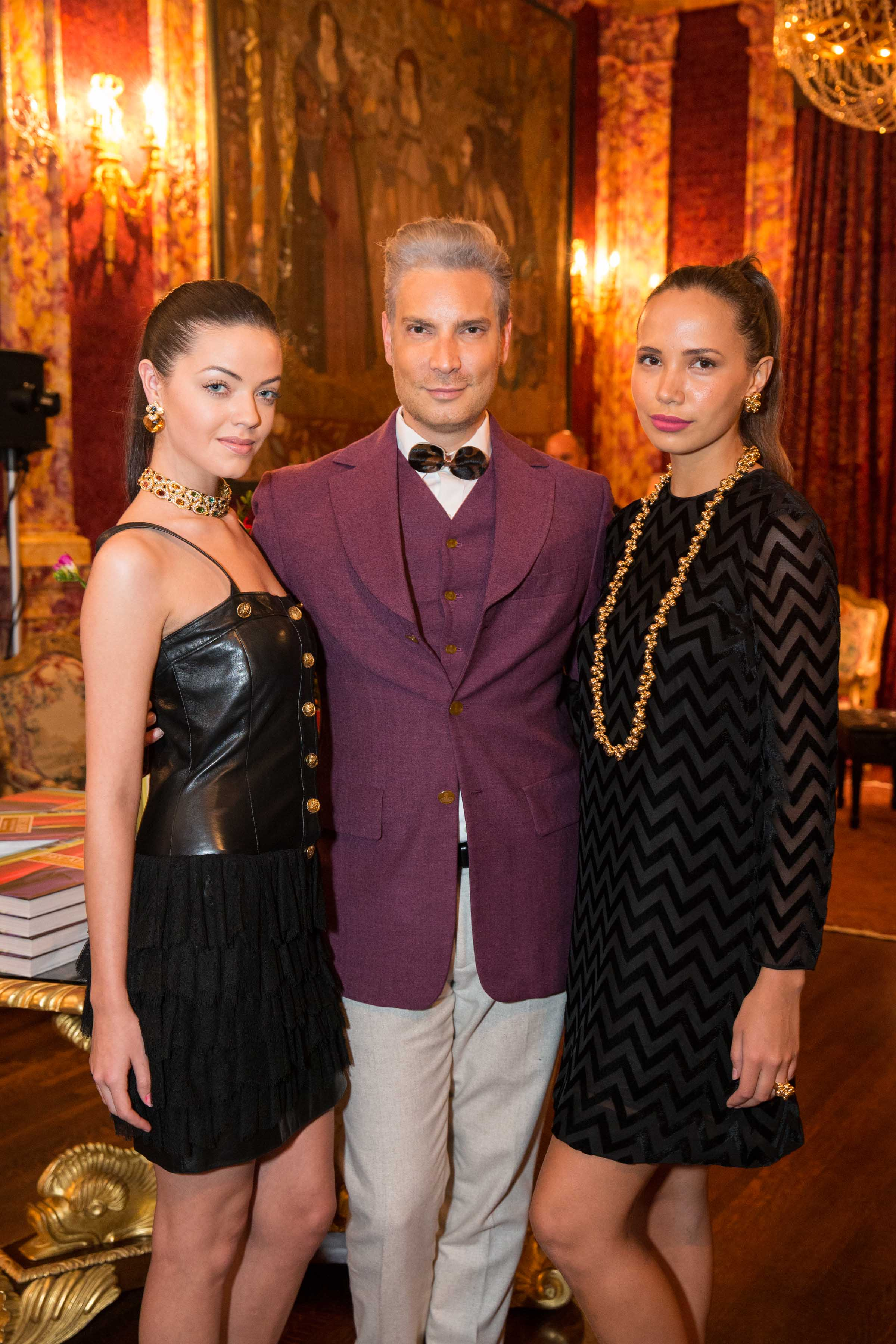 "Marina B & Vanessa Getty celebrate Cameron Silver's Book ""DECADES: A Century of Fashion"""