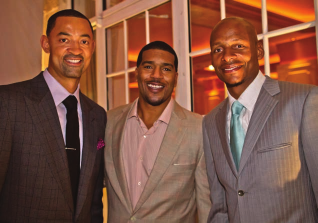 Juwan Howard, Jim Jackson and Ray Allen