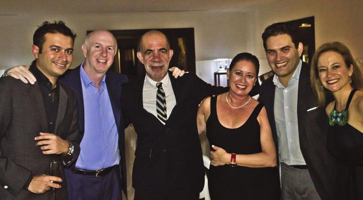 Kamal Hotchandani, Mark Roberts, Alan Zelcer, Ruth Zelcer and Raphael Alvarez