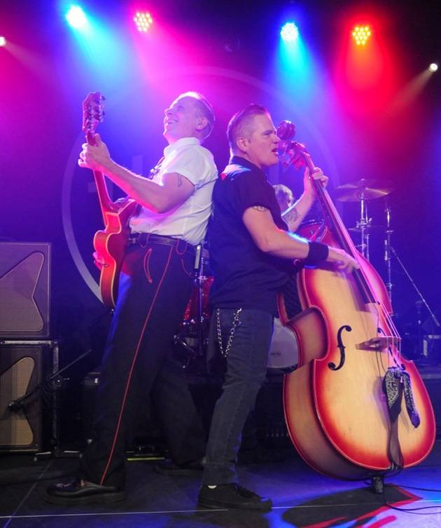 Jim Heath aka Reverend Horton Heat and Jimbo Wallace