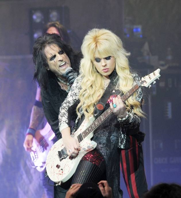 Alice Cooper Performs Night Of Fear In Las Vegas