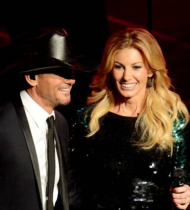 """Faith Hill and Tim McGraw Opening Weekend Of Their Limited-Engagement """"Soul2Soul"""" Show at The Venetian"""