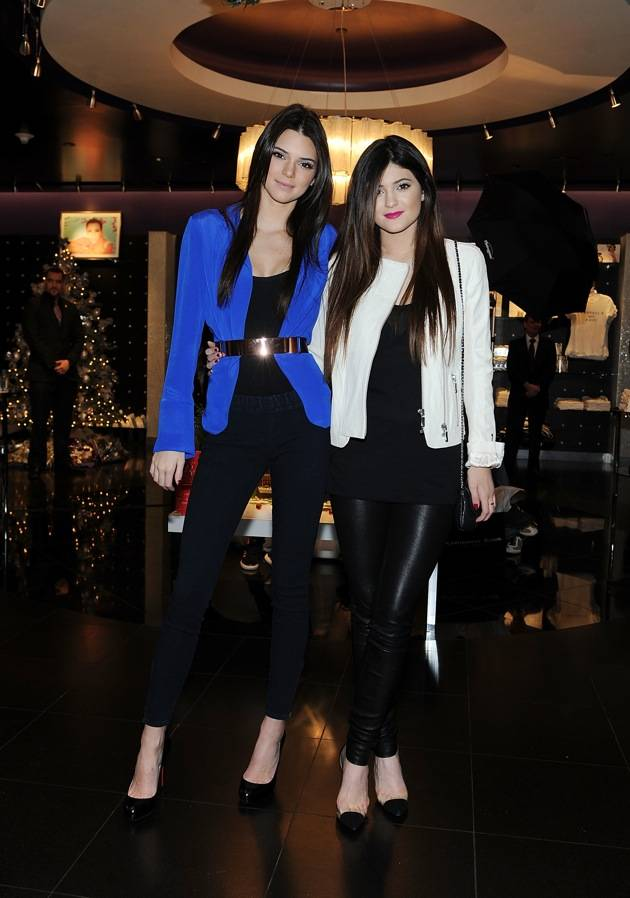 Kendall and Kylie Jenner Visits Kardashian Khaos At The Mirage Hotel