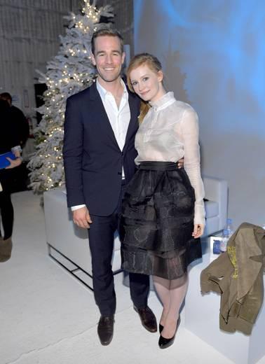 James van der Beek and wife Kimberly