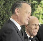 Tom Hanks, Jeffrey Katzenberg, Will Smith