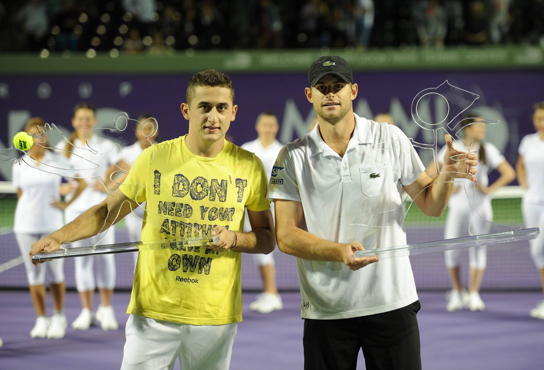 The Miami Cup tennis tournament held at Crandon Park Tennis Center.