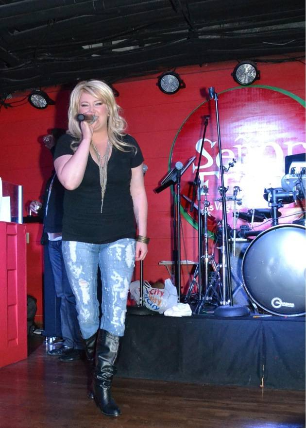 Angela Hathaway performs as Miranda Lambert at Señor FrogÕs Las Vegas