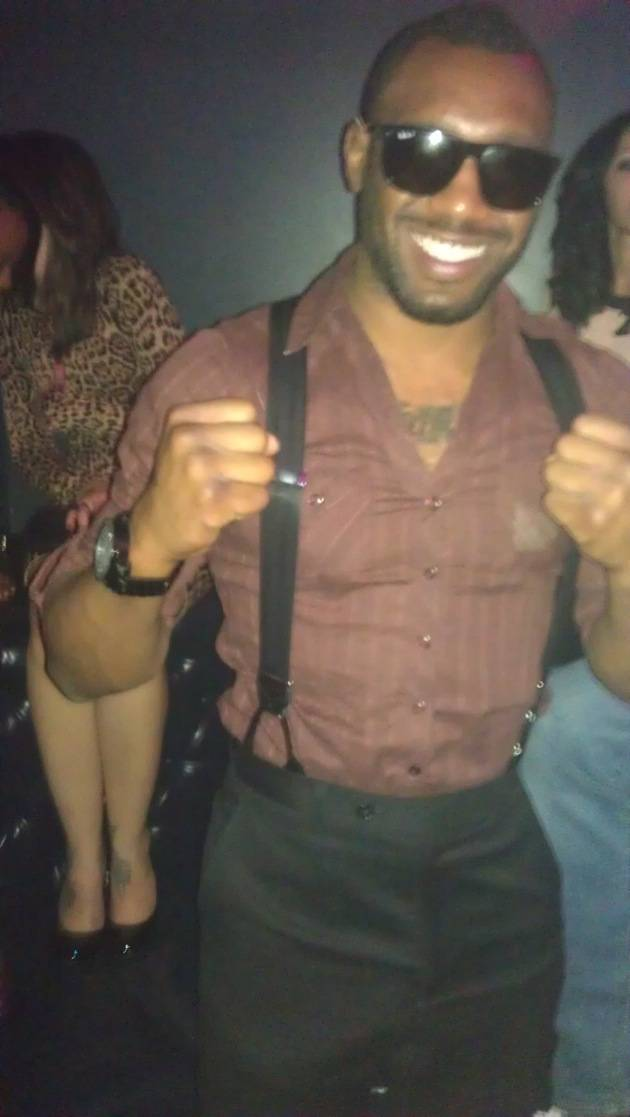Austin Trout at Chateau Nightclub