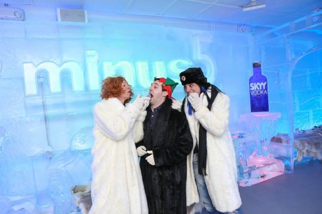 Carrot Top Savard Godard at Minus5 Winter Wonderland