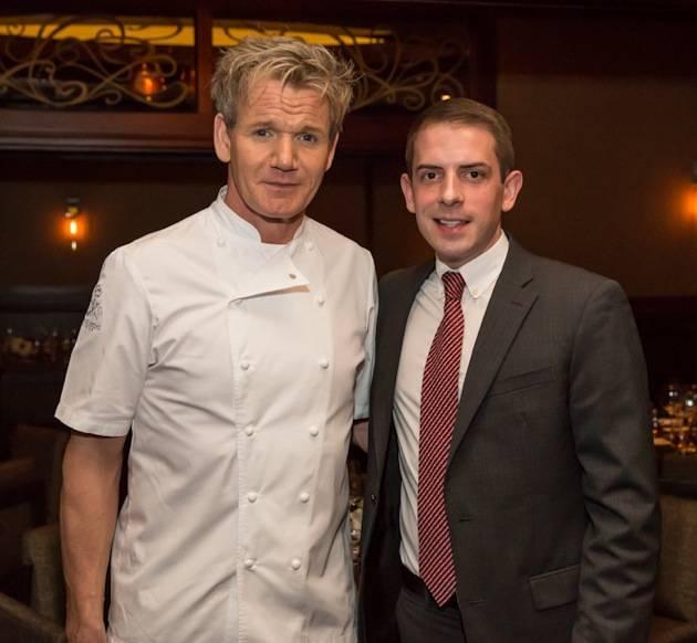 Chef Gordon Ramsay - Kristopher Moon, James Beard Foundation