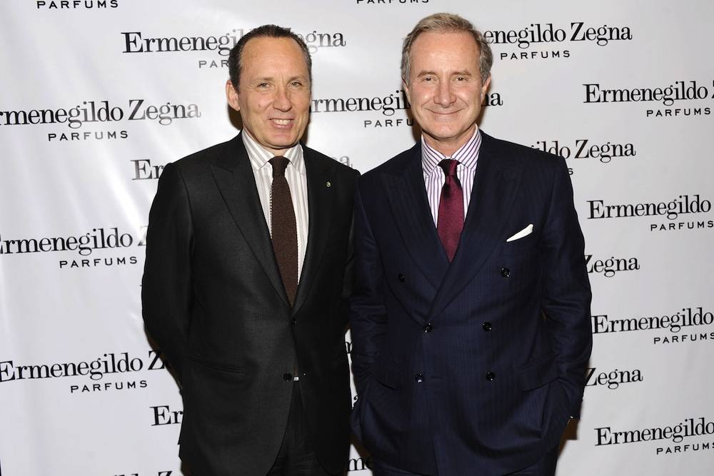 Ermenegildo Zegna Launches ESSENZE COLLECTION Hosted by Gildo Zegna and Fabrizio Freda