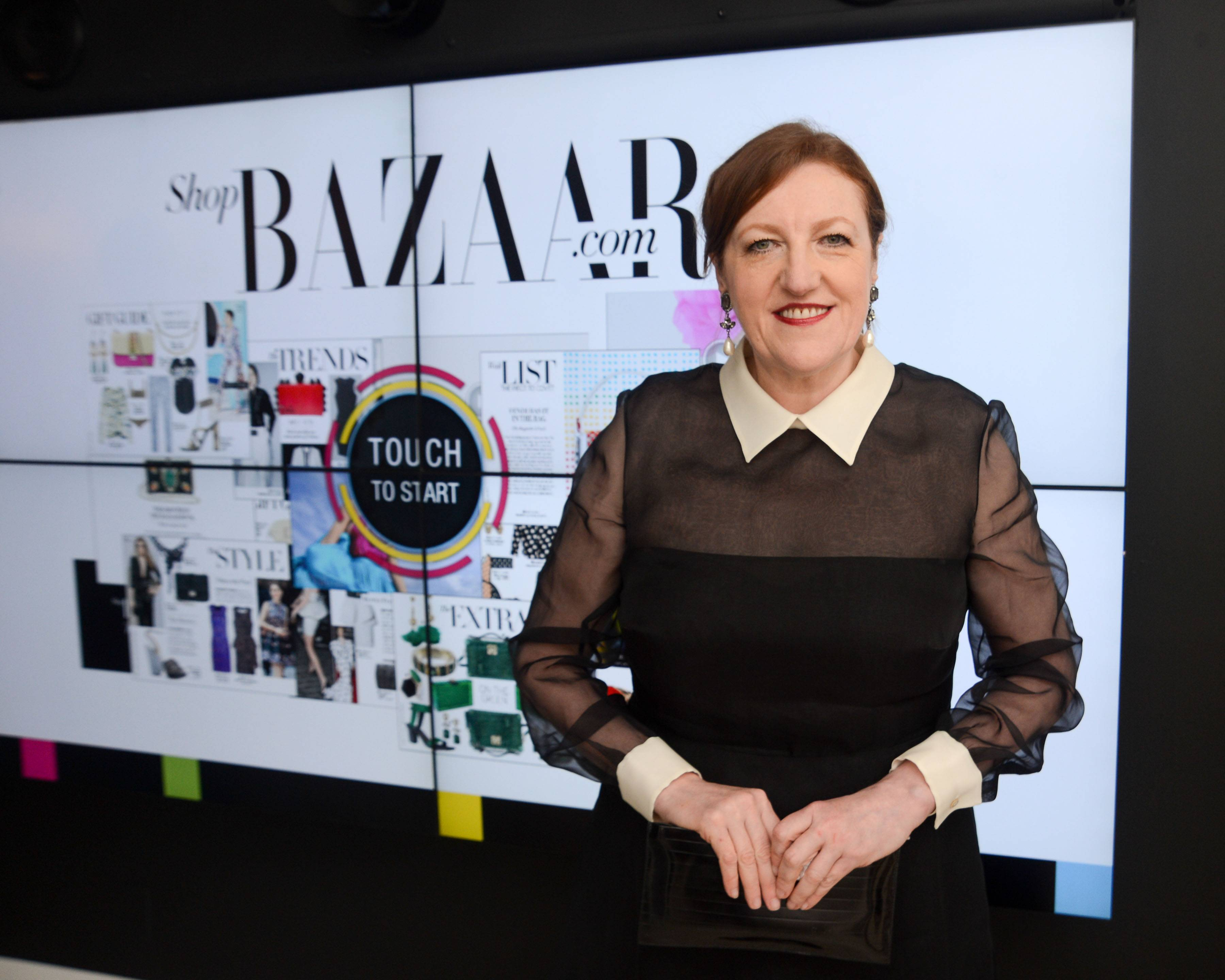 Harper's BAZAAR Editor-in-Chief, Glenda Bailey hosts an exclusive cocktail reception to celebrate ShopBAZAAR during Art Basel Miami Beach with a menu by Chef John DeLucie