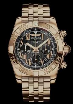 Gold Chronomat 44