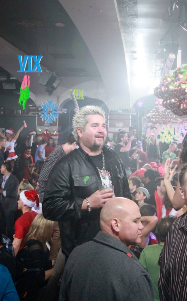 Guy Fieri parties at XIV Vegas Sessions at Hyde Bellagio, 12.16.12