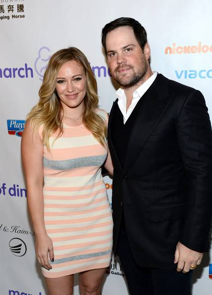 Hilary Duff + Mike Comrie