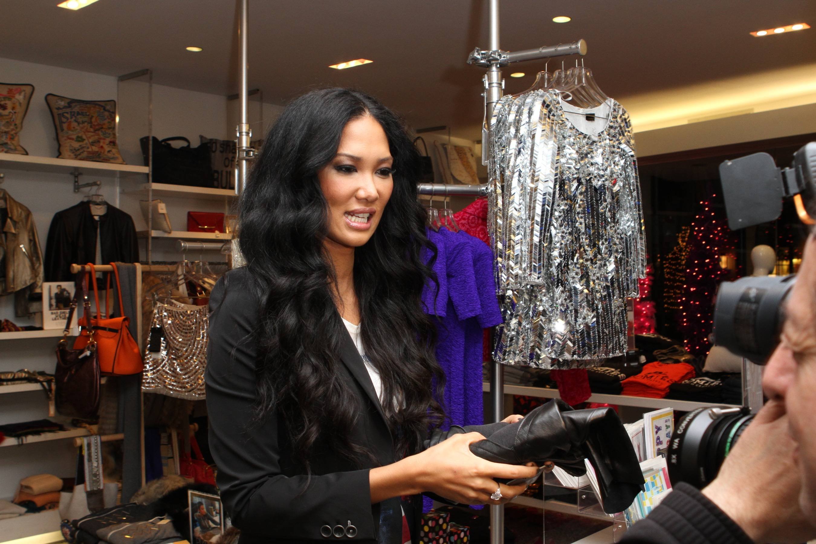 Kimora Lee Simmons for Frankie B.