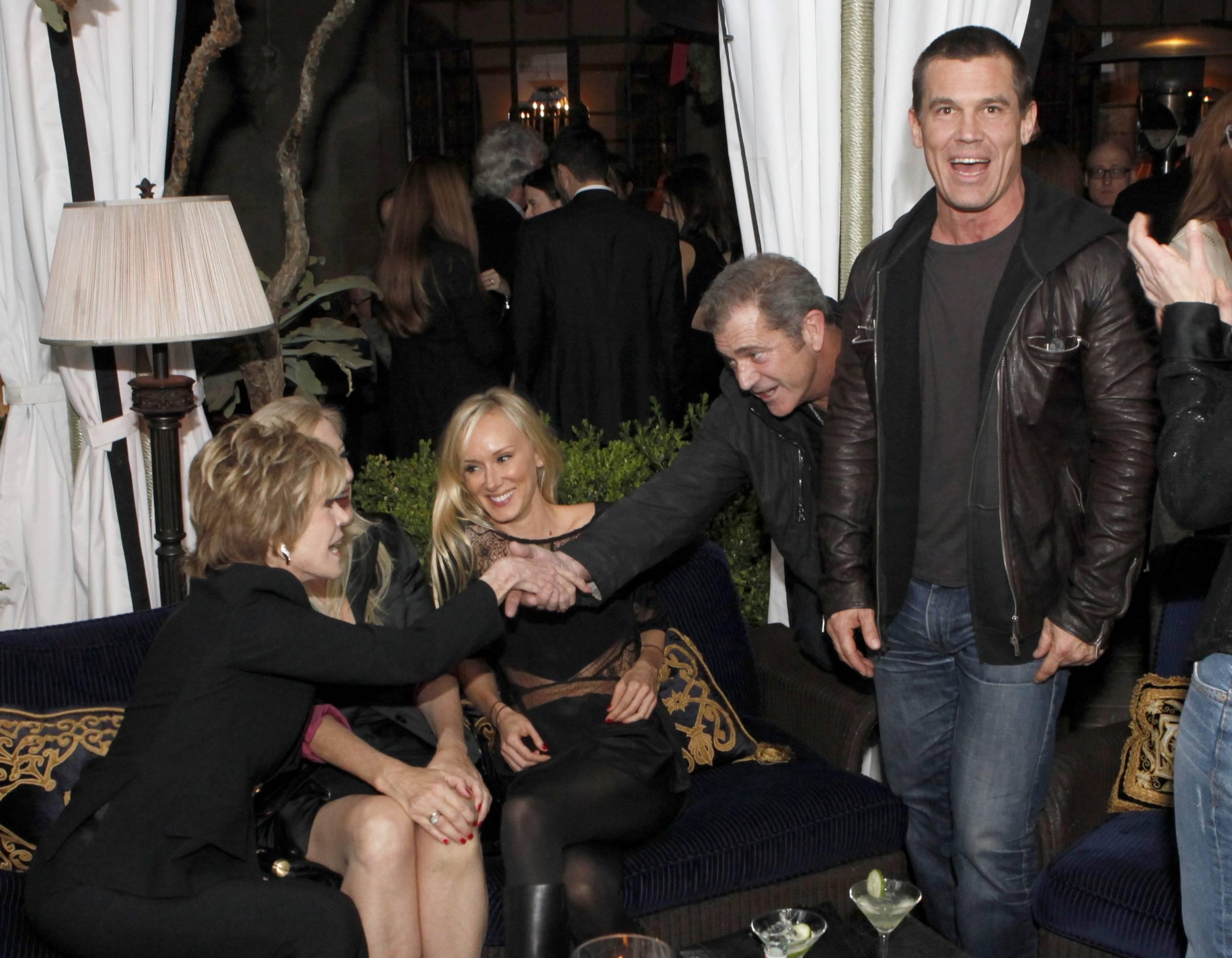 Josh Brolin Mel Gibson Jane Fonda
