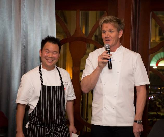 Kevin Hee, Executive Chef, Gordon Ramsay Steak - Chef Gordon Ramsay