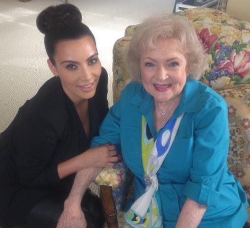 Oh Betty!!!—Kim Kardashian